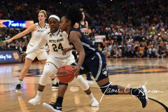 NCAA Women's Basketball FInal Four National Semi-Finals - Notre Dame 81 vs UConn 76 (97)