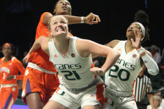 Gallery NCAA Womens Basketball: Miami 67 vs. Clemson 76