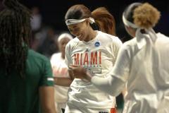 Gallery NCAA Women's Basketball NCAA Tournament First Round: Miami 69 vs. FGCU 62