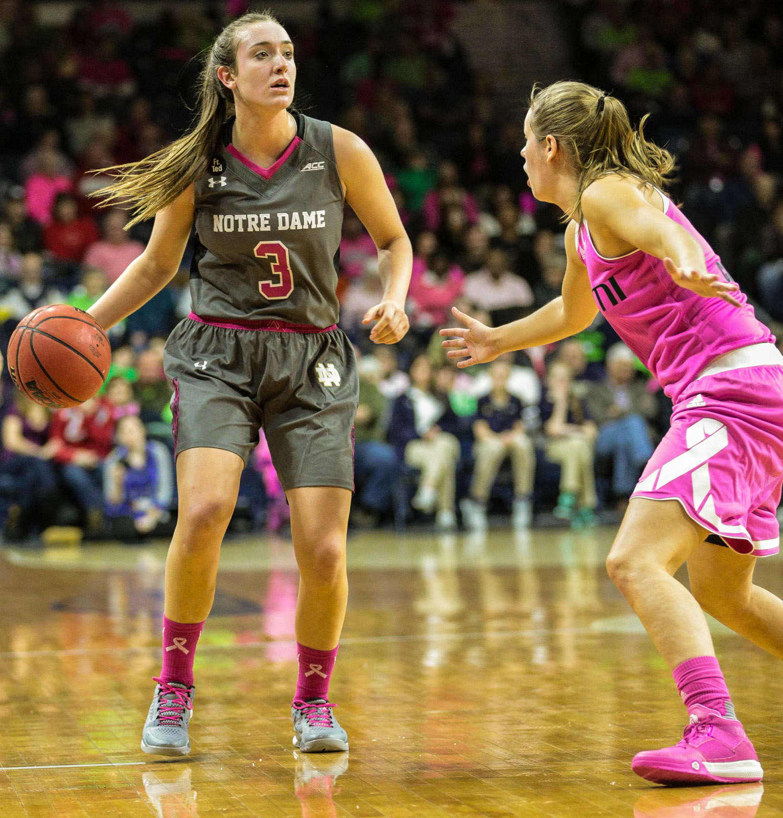 Gallery NCAA Women's Basketball: Notre Dame 90 vs. Miami 69 - Sports Page Magazine