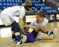 NCAA Women's Basketball - Quinnipiac 61 vs. Niagara 45 - Photo (37)