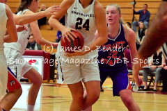 Gallery NCAA Womens Basketball: Springfield College 63 vs. Coast Guard 50