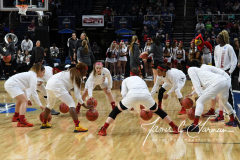 NCAA Women's Basketball Sweet Sixteen - #1 Louisville 61 vs. #4 Oregon St 44 (11)