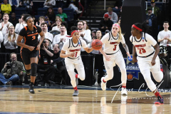 NCAA Women's Basketball Sweet Sixteen - #1 Louisville 61 vs. #4 Oregon St 44 (15)