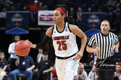 NCAA Women's Basketball Sweet Sixteen - #1 Louisville 61 vs. #4 Oregon St 44 (16)