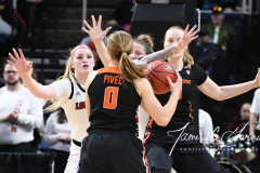 NCAA Women's Basketball Sweet Sixteen - #1 Louisville 61 vs. #4 Oregon St 44 (24)