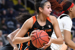 NCAA Women's Basketball Sweet Sixteen - #1 Louisville 61 vs. #4 Oregon St 44 (38)