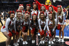 NCAA Women's Basketball Sweet Sixteen - #1 Louisville 61 vs. #4 Oregon St 44 (4)