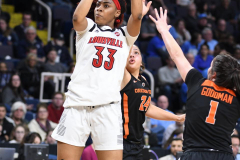 NCAA Women's Basketball Sweet Sixteen - #1 Louisville 61 vs. #4 Oregon St 44 (41)