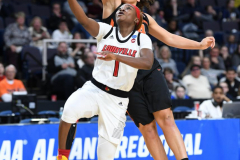 NCAA Women's Basketball Sweet Sixteen - #1 Louisville 61 vs. #4 Oregon St 44 (47)