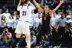 NCAA Women's Basketball Sweet Sixteen - #1 Louisville 61 vs. #4 Oregon St 44 (58)
