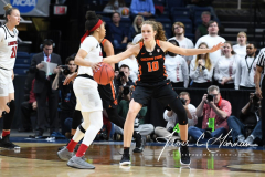 NCAA Women's Basketball Sweet Sixteen - #1 Louisville 61 vs. #4 Oregon St 44 (59)