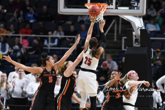 NCAA Women's Basketball Sweet Sixteen - #1 Louisville 61 vs. #4 Oregon St 44 (60)