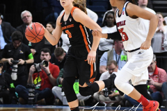 NCAA Women's Basketball Sweet Sixteen - #1 Louisville 61 vs. #4 Oregon St 44 (61)