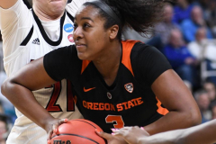 NCAA Women's Basketball Sweet Sixteen - #1 Louisville 61 vs. #4 Oregon St 44 (65)