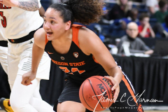NCAA Women's Basketball Sweet Sixteen - #1 Louisville 61 vs. #4 Oregon St 44 (67)