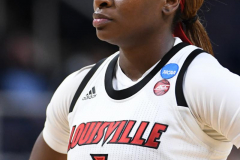 NCAA Women's Basketball Sweet Sixteen - #1 Louisville 61 vs. #4 Oregon St 44 (69)