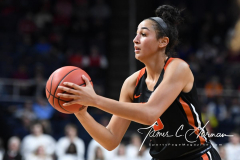 NCAA Women's Basketball Sweet Sixteen - #1 Louisville 61 vs. #4 Oregon St 44 (78)