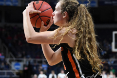 NCAA Women's Basketball Sweet Sixteen - #1 Louisville 61 vs. #4 Oregon St 44 (81)