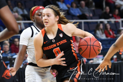 NCAA Women's Basketball Sweet Sixteen - #1 Louisville 61 vs. #4 Oregon St 44 (83)
