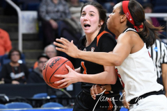NCAA Women's Basketball Sweet Sixteen - #1 Louisville 61 vs. #4 Oregon St 44 (85)