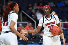 NCAA Women's Basketball Sweet Sixteen - #1 Louisville 61 vs. #4 Oregon St 44 (87)