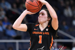 NCAA Women's Basketball Sweet Sixteen - #1 Louisville 61 vs. #4 Oregon St 44 (88)