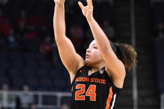 NCAA Women's Basketball Sweet Sixteen - #1 Louisville 61 vs. #4 Oregon St 44 (95)