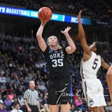 NCAA Women's Basketball Sweet Sixteen - #1 UConn 72 vs. #5 Duke 59 (100)