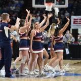NCAA Women's Basketball Sweet Sixteen - #1 UConn 72 vs. #5 Duke 59 (102)