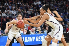 NCAA Women's Basketball Sweet Sixteen - #1 UConn 72 vs. #5 Duke 59 (103)