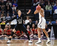 NCAA Women's Basketball Sweet Sixteen - #1 UConn 72 vs. #5 Duke 59 (105)