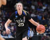 NCAA Women's Basketball Sweet Sixteen - #1 UConn 72 vs. #5 Duke 59 (107)