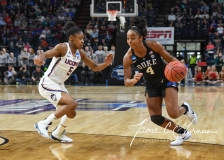 NCAA Women's Basketball Sweet Sixteen - #1 UConn 72 vs. #5 Duke 59 (108)