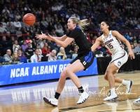 NCAA Women's Basketball Sweet Sixteen - #1 UConn 72 vs. #5 Duke 59 (110)