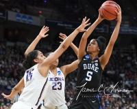 NCAA Women's Basketball Sweet Sixteen - #1 UConn 72 vs. #5 Duke 59 (111)