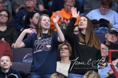 NCAA Women's Basketball Sweet Sixteen - #1 UConn 72 vs. #5 Duke 59 (115)