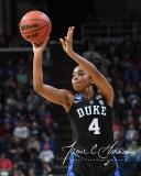 NCAA Women's Basketball Sweet Sixteen - #1 UConn 72 vs. #5 Duke 59 (120)