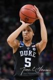 NCAA Women's Basketball Sweet Sixteen - #1 UConn 72 vs. #5 Duke 59 (121)