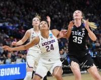 NCAA Women's Basketball Sweet Sixteen - #1 UConn 72 vs. #5 Duke 59 (122)