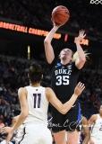 NCAA Women's Basketball Sweet Sixteen - #1 UConn 72 vs. #5 Duke 59 (123)