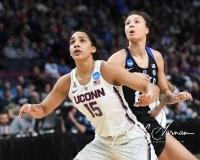NCAA Women's Basketball Sweet Sixteen - #1 UConn 72 vs. #5 Duke 59 (124)