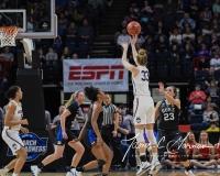 NCAA Women's Basketball Sweet Sixteen - #1 UConn 72 vs. #5 Duke 59 (126)