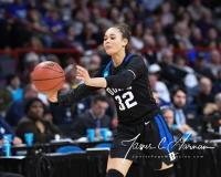 NCAA Women's Basketball Sweet Sixteen - #1 UConn 72 vs. #5 Duke 59 (127)