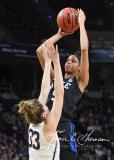 NCAA Women's Basketball Sweet Sixteen - #1 UConn 72 vs. #5 Duke 59 (129)