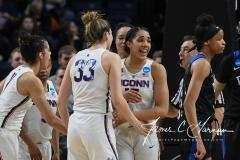 NCAA Women's Basketball Sweet Sixteen - #1 UConn 72 vs. #5 Duke 59 (131)