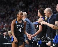 NCAA Women's Basketball Sweet Sixteen - #1 UConn 72 vs. #5 Duke 59 (141)