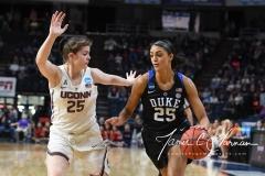 NCAA Women's Basketball Sweet Sixteen - #1 UConn 72 vs. #5 Duke 59 (142)
