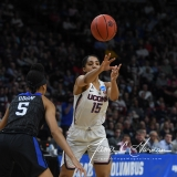 NCAA Women's Basketball Sweet Sixteen - #1 UConn 72 vs. #5 Duke 59 (22)