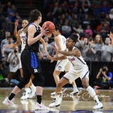 NCAA Women's Basketball Sweet Sixteen - #1 UConn 72 vs. #5 Duke 59 (24)